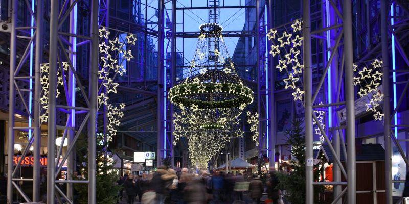 Weihnachtsmarkt Lloyd-Passage