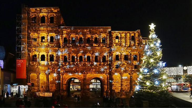 Weihnachtsmarkt In Trier.Weihnachtsmarkt In Trier 2019