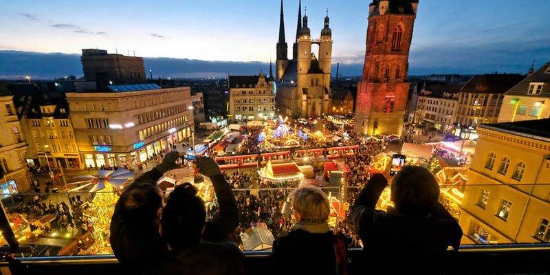 Weihnachtsmarkt in Halle