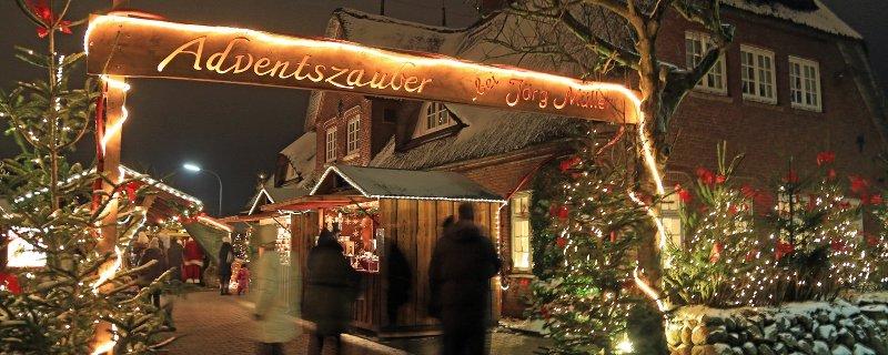Weihnachtsmarkt in Sylt