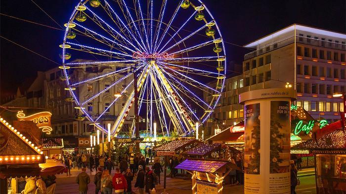 Bild vom Columbia Riesenrad auf dem Weihnachtsmarkt in Dortmund