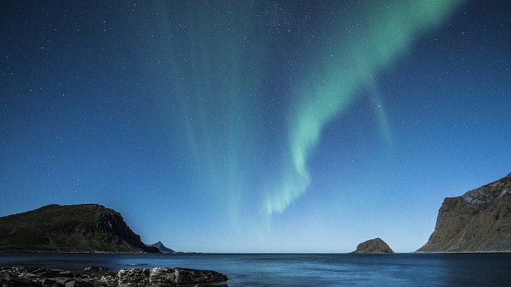 polarlichter in Alaska