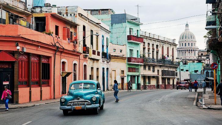 urlaub in Havana kuba
